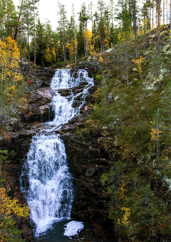 Rivsjövasslans vattenfall